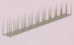 ばーどれすまっといちがた|がいちょうたいさく|きひぐ|用途に合わせて切ったり並べたりしてハトの集まりそうな場所に設置するだけ!プラスチック製なので接近したハト、ドバト、カラス、スズメを傷つける心配がない!ハト・ドバト・カラス・スズメ対策にプラスチック針・剣山バードレスマット1型の通信販売:テクノ株式会社、こんな事で困っていませんか?・ハトやドバトなどの糞などで洗濯物を汚される。ハトやドバトなどの糞や羽などでベランダや窓の掃除が大変!病永どの施設でハトやドバトなどが集まり不衛生で患者様への心象悪化。ハトやドバトが運ぶ寄生虫や鳥インフルエンザなどの発症が心配。駅などでハトやドバトなどの悪臭や汚れがあり困っている。すべてバードレスマットが解決します!なんといっても売上実績NO11985年創業。鳥害対策業界でのパイオニア。官公庁や電力、電鉄各社で採用。30年以上のロングセラー商品で信頼の実績。コーユー独自開発の「特許商品」です!メンテナンスフリーで経済的基本的にメンテナンスは不要です。しかも改修工事の際は、本体の取り外しも簡単にでき、繰り返し使用できます。(専用止め金具使用の場合)耐久性は抜群です!耐候性素材で丈夫。屋外耐候試験10年クリア。ラクラク簡単設置プラスチック製で軽い!カットもカンタン!設置もラクラク!柔らかくて安全です先端が丸く、柔らかで軽量な剣山タイプ。ヒトにも鳥にもやさしい設計です。  用途に応じて切ったり、並べたりして、ハトの集まりそうな場所に設置するだけ。本品の設置には別売りの取り付け金具及び強力な両面テープなどをご使用下さい。さらに本品はプラスチック製なので、接近した鳥を傷つける心配もなし。一度取り付けると、半永久的に使えます。【対象害鳥・場所】対象害鳥:ハト(鳩)、ドバト・対象場所:ビル、倉庫、工場、駅、マンション、家庭などのハト(鳩)、ドバト飛来箇所 用途に合わせて切ったり並べたりしてハトの集まりそうな場所に設置するだけ!プラスチック製なので接近したハト、ドバト、カラス、スズメを傷つける心配がない!ハト・ドバト・カラス・スズメ対策にプラスチック針・剣山バードレスマット1型の通信販売:テクノ株式会社