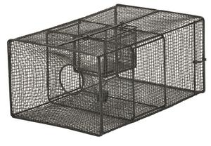 ぶらっくぼっくす ねずみくじょ ほかくき  栄ヒルズNZ-2ネズミの騒音に悩まされない快適な生活へ特殊なシーソータイプの仕掛けで、たくさんのネズミが一度に入る仕掛けにくい屋根裏や、ネズミの多い場所での設置に最適AtypeNO.102の通信販売:テクネットストア製品名:栄ヒルズAtypeNO.102 NZ-2サイズ:W200×H137×D300mm線材間隔:35mm線材径:φ05mm重量:1kg製造元:有限会社栄工業エサは置くだけネズミが大きな米やコーヒーのミルクをトレーに入れて置くだけで簡単に設置ができます。ネズミがよろこぶ遊び場付き丸形の入口と出入り自由なスペースはネズミが安心して近づきやすい形状になっています。続けて沢山入るネズミは遊んでエサを食べているたけなので周りの仲間がつられて入ってきます。栄ヒルズNZ-2ネズミの騒音に悩まされない快適な生活へ特殊なシーソータイプの仕掛けで、たくさんのネズミが一度に入る仕掛けにくい屋根裏や、ネズミの多い場所での設置に最適AtypeNO.102の通信販売:テクネットストア