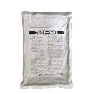 ふるすたーりゅうざいえす|はえ・か・ようちゅうくじょざい|新規成分クロチアニジンで速効&確実な致死効果フルスター粒剤Sの通信販売|新規成分の殺虫剤!クロチアニジンを有効成分とする初めての水系殺虫剤です。速効性と確実な致死力!投与直後から効果を示し、致死活性に優れています。安全性!哺乳類や魚類に対して影響の少ない薬剤です。優れた作業性!粒剤のため、粉立ちなく河川などへ散布が出来ます。水溶性のため、川底に残渣が残りません。またいやな臭いはありません。・対象害虫:ユスリカ幼虫、チョウバエ幼虫など・対象場所:工場、飲食店、浄化槽、側溝、雨水枡、河川、池などの害虫発生箇所|新規成分クロチアニジンで速効&確実な致死効果フルスター粒剤Sの通信販売