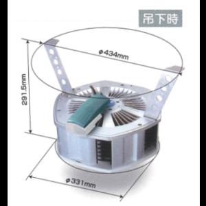 かくはんくん しろありくじょ ゆかしたかんきせん かくはん型送風機ノ新しいスタンダード!よどんだ床下の空気をパワフルに動かす!床下用カクハン型送風機【フィトンチッド標準装備】撹拌くんSF-206の通信販売 空気を動かす!床下は構造的に湿気がたまりやすく、腐朽菌やダニ、カビの発生原因となります。従来の床下換気扇だけでは床下内の基礎構造によっては空気のよどみが発生していました。「撹拌くんSF-206」は独自の設計で床下の隅々までパワフルに空気を動かし、腐朽菌・カビなどの発生を抑えます。さらにカビや不快害虫の繁殖を抑制するフィトンチッドカートリッジを標準装備(特許)床下から家族と住まいを守ります。湿気・結露を解消し床下木部のカビや害虫、腐朽対策に有効です。